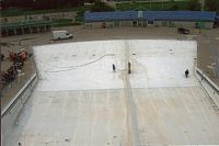No matter how small or how big we can remove paint off of any pool.