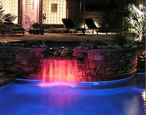 Add lighting to your backyard and discover a new dimension of your pool and spa.